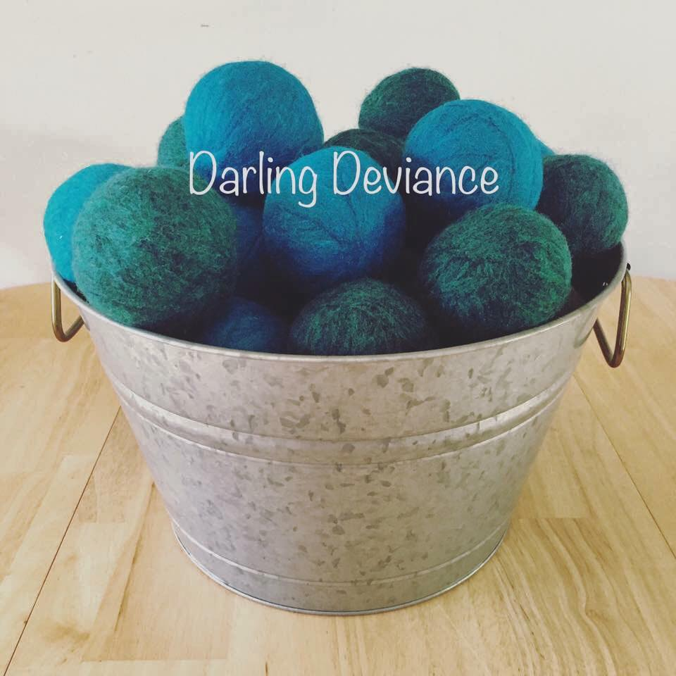 Darling Deviance Northern BC Prince George Dryer Balls