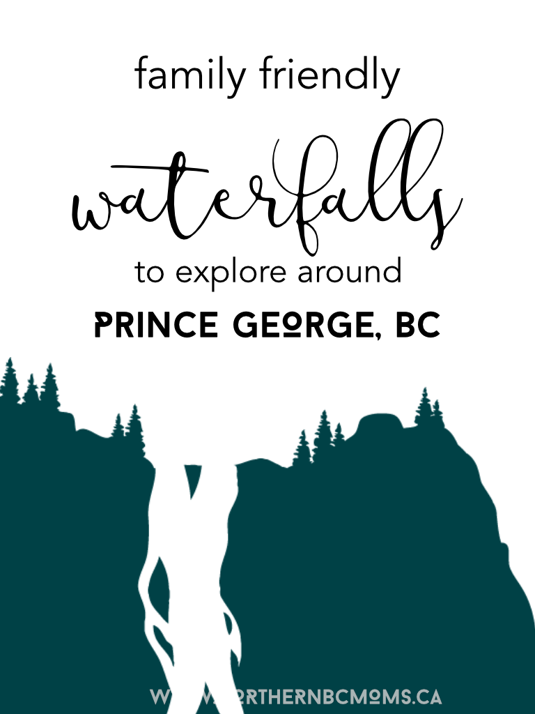 Family Friendly Waterfalls to Explore in Northern bC #discoverCanada #travelBC #princegeorgebc