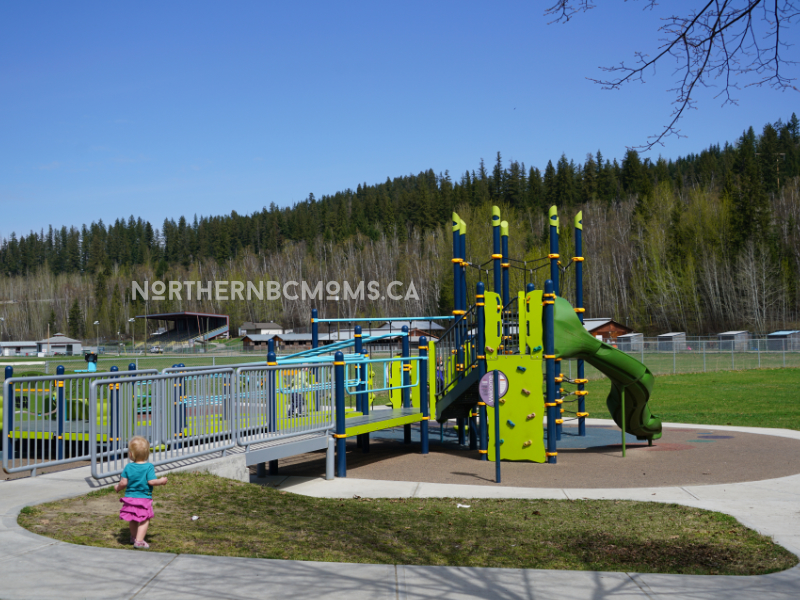Quesnel Recreation Centre Playground Structure