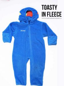 Fleece One Piece Suit for toddlers