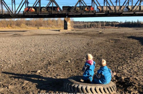 Watching the Trains in Prince George