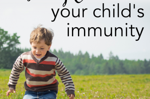 How to Boost your child's immunity and prevent illness