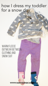 Warm Layer of Clothing for Play