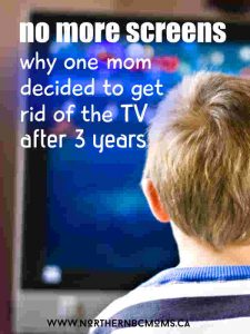 Screen Free Kids - Why I broke up with TV time and shows for my 3 year old