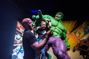 Telus World of Science Incredible Hulk