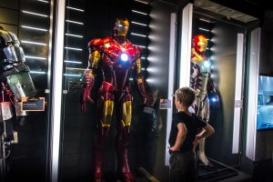 Telus World of Science Iron Man and Boy