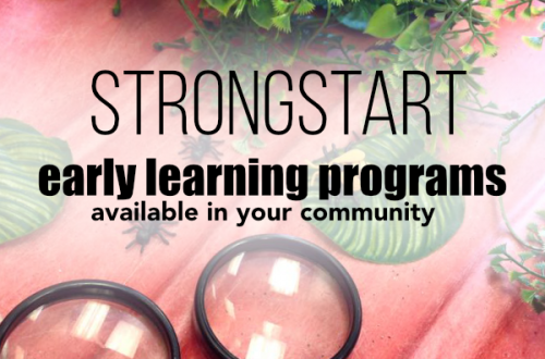 Find an Early Learning Program for you BC Community - Strong Start BC for young kids #BritishColumbia #infantdevelopment #youngkids